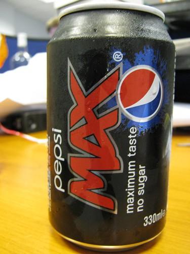 New Pepsi Max branding