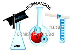 desenho formatura quimica molecula tubo ensaio