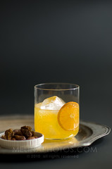 sultry orange fizz (mwhammer) Tags: orange white silver grey moody fresh cocktail ontherocks reflective sultry simple refreshing chilled silverplatter orangeslice onice tangerinesoda withnuts melinahammer orangefizz foodandpropstyling smoothsipping