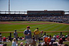 Peoria Stadium (Culinary Fool) Tags: arizona phoenix baseball diamond mariners fans peoria springtraining mlb cactusleague culinaryfool valleyofthesun peoriastadium