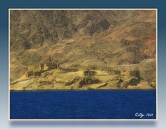 Saladin's castle on the Red Sea (cmphotoroll) Tags: castle redsea egypt picnik saladin crusades worldwidewandering nikonp90
