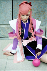 Lacus Clyne Gundam SEED Destiny Cosplay