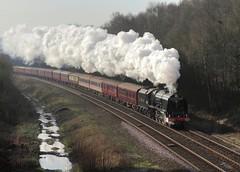 [フリー画像] [電車/列車] [蒸気機関車] [イギリス風景]        [フリー素材]