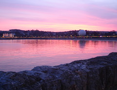 Sunset over Torquay (Dr Tarek) Tags: sea england waterfront unitedkingdom seafront torquay drtarek yahoo:yourpictures=landscape yahoo:yourpictures=waterv2