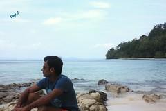 Relishing the Beauty (keedap) Tags: india beach asia honeymoon deepak deep x virgin kanu havelock andaman sharma keerti besr radhanagar