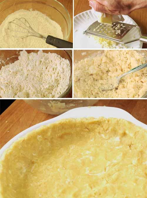 pat in the pan pie crust