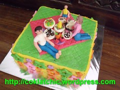Thomas n Polar express cake dan anniversary cake – JONAH