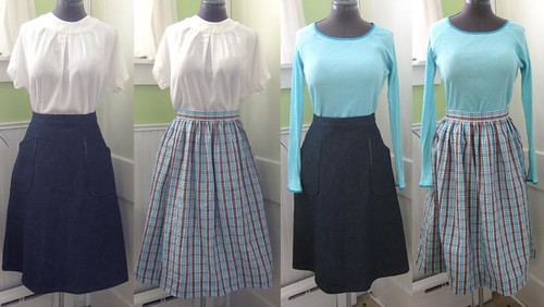 Project Spring 1953: wardrobe composite