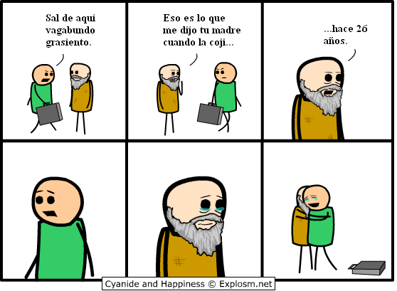 cyanide y happiness.