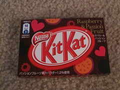 KitKat Raspberry and Passion Fruit