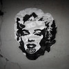 Marilyn Moko Awesome graffiti. Seen