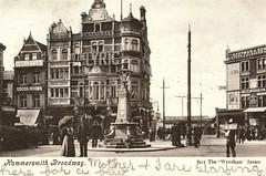 Hammersmith Broadway Prior to 1904 (pepandtim) Tags: hammersmith london policeman postcard early nostalgic nostalgia cocoa woodbridge swan billymurray 54hb29 meetmeinstlouislouis 1904 roundabout veronica toweroflondon lockharts rooms room 06091904 lockhart