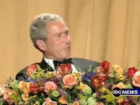 Bush reaction to Colbert