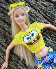 Barbie In Loves Sponge Bob (Chicomαttel) Tags: barbie bob loves sponge mattel inc in