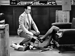 Make a Good Impression (Robert Hruzek) Tags: wasted missing shoes legs working learning absent impression salesman