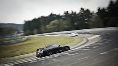 GT-R. (Denniske) Tags: motion black skyline speed canon photography eos movement track noir nissan angle flat action 10 04 wide sigma automotive mat april mm 12 dennis 12th panning circuit 1020 zwart nero schwarz matte 2010 gtr trackday nordschleife noten nurburgring r35 f456 karoussel 40d denniske dennisnotencom trackdaysde wwwtrackdaysde trackdaysdetrackdaynordschleife