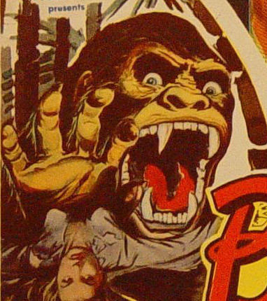 BRIDE OF THE GORILLA (1951) Lobby Card detail