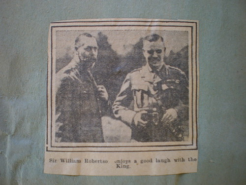Clippings and photographs / Sir William Robertson