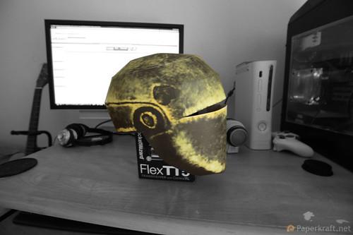 Fallout 3 - Liberty Prime Papercraft 03