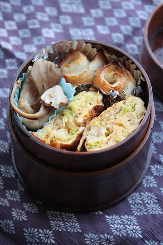chikuwa roll bento 2