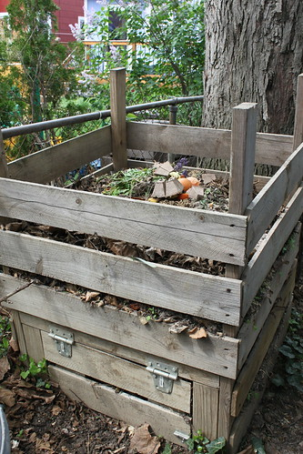 home made compost bin