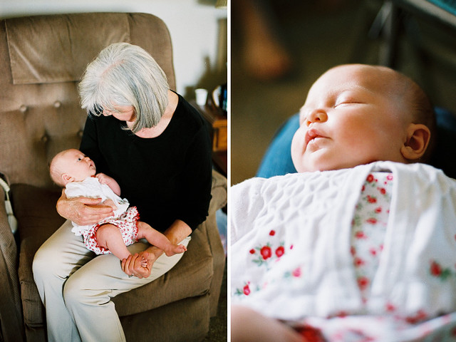 {Great Grandma + Adelaide}