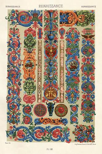 018-Ornamentos policromados Renacimiento-Das polychrome Ornament…1875