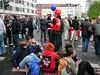 Proteste gegen den Neonaziaufmarsch in Erfurt