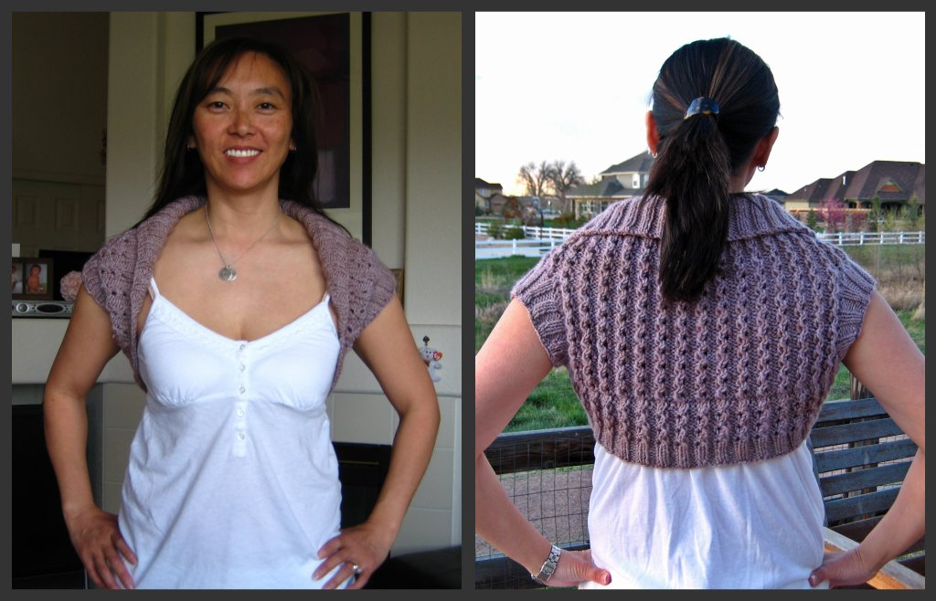 Quick Shawl-Collared Shrug_collage
