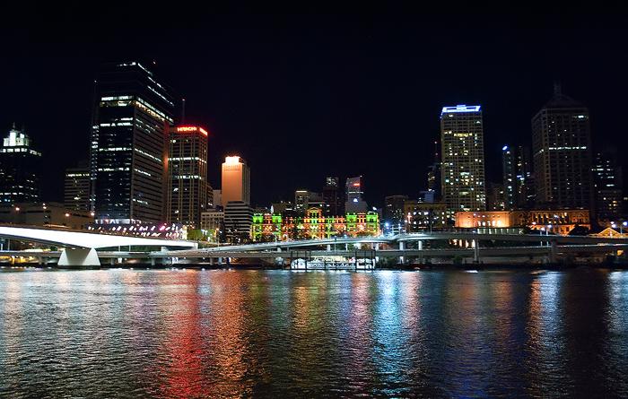 Brisbane River - City Scape