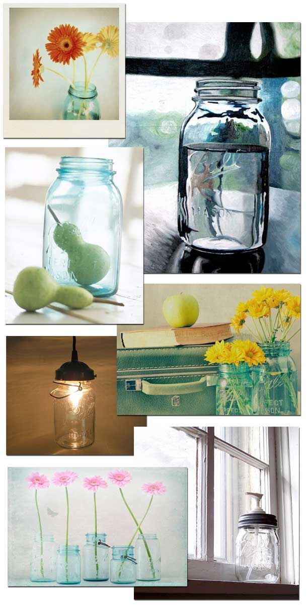 jar head - canning jars become objet d'art