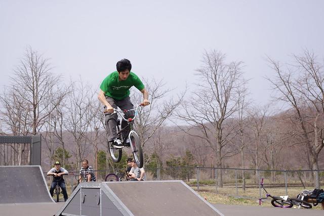 Tomakomai-Muroran BMX Tour (Maru-1)