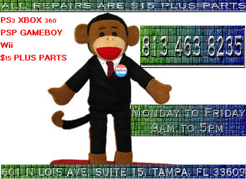 tampa xbox 360 ps3 repairs monkey psp ds wii