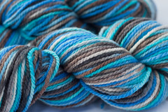 Prolific Seas on Cestari Fine Merino Wool- 8 oz + trim (...a time to dye)