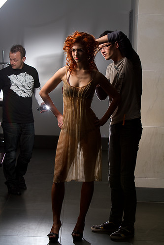 Model, hair designer and VAL