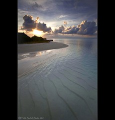 Maldivian Sunrise 1 (tsechel) Tags: beach water sunrise reflections sand paradise republic crystal indianocean clear fourseasons maldives canon1740f4l northmaleatoll leefilters kudahuraa canon5dmkii
