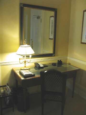 Fairmont Copley Plaza Hotel--Desk Area