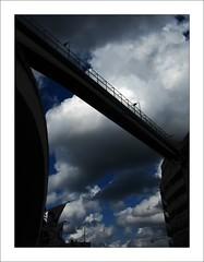 Stockhom bridge (Arnu006) Tags: bridge blue sky clouds sweden stockholm bleu ciel pont nuages suede