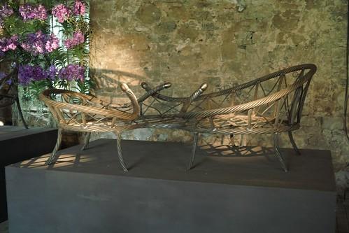 Tage Andersen Ausstellung BAROKT auf Schloss Hünnefeld in Bad Essen