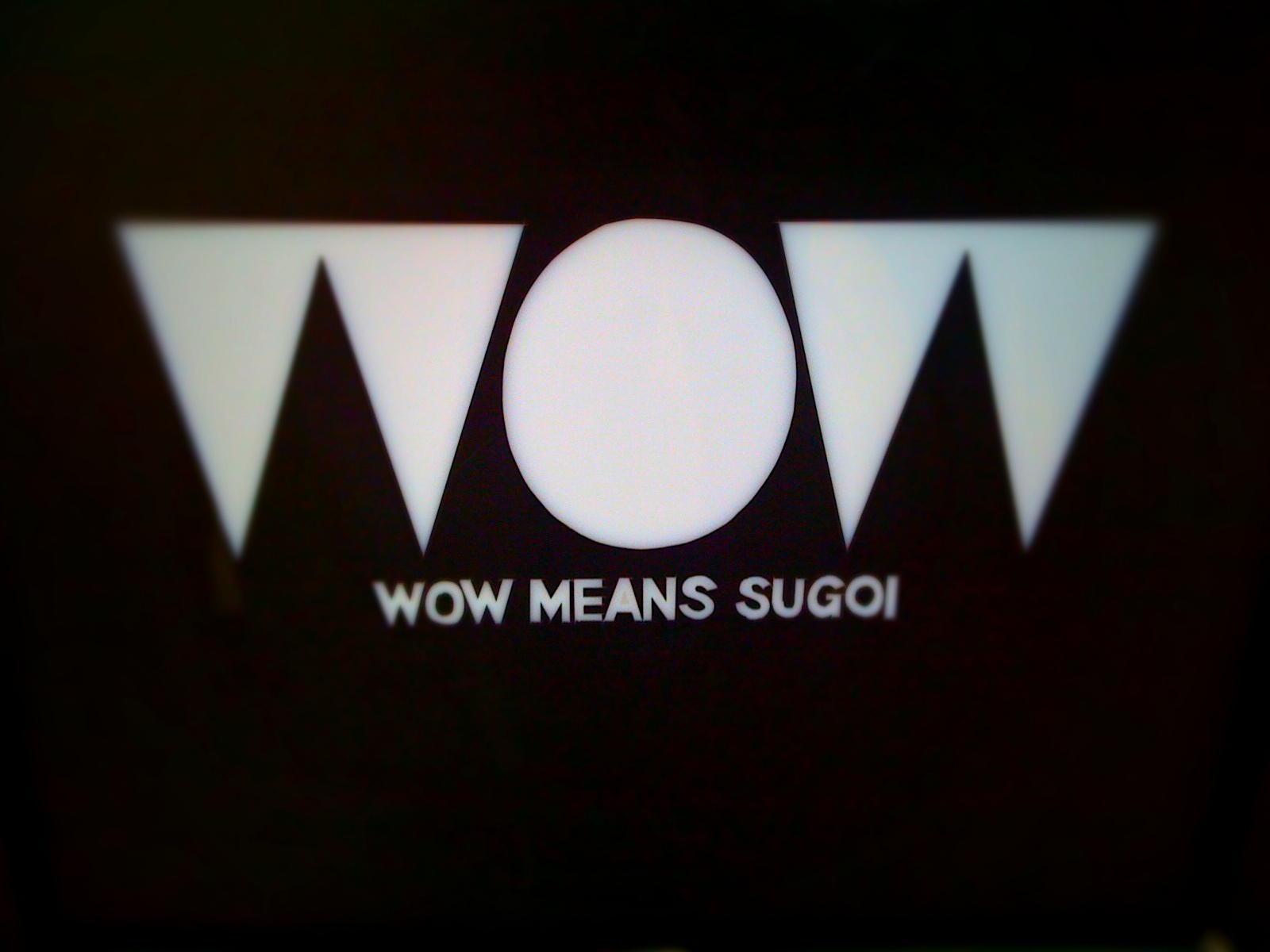 "Meaning of ""wow"""