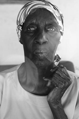 Dona Aquilina (Lola) Maria, 86 anos - Moradora do Quilombo Botafogo Caveira em São Pedro da Aldeia
