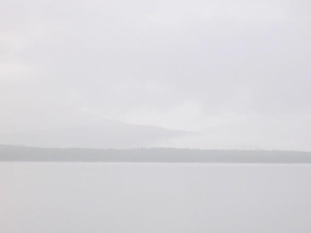 Morning Fog On Turquoise Lake