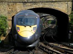 Gravesend Javelin (R~P~M) Tags: uk greatbritain england train kent unitedkingdom railway emu 395 gravesend southeastern javelin multipleunit