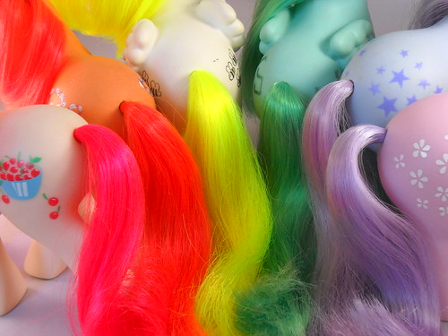 My Little Pony gay pride rainbow