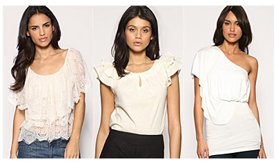 ASOS Online Fashion Shop - Tops
