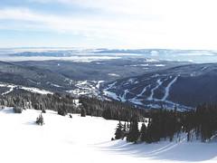 (la fille hard coeur) Tags: winter light sun snow mountains columbia lodge resort british peaks