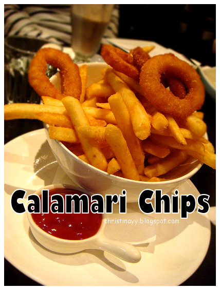 The Angel Cafe: Golden Fried Calamari and Chips