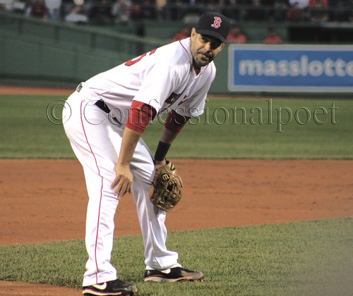 Here, have another photo of Mike Lowell