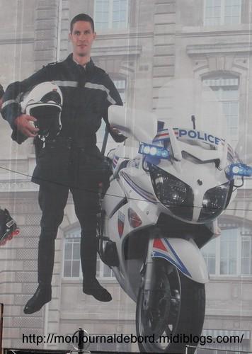 motard Préfecture Police Paris 1