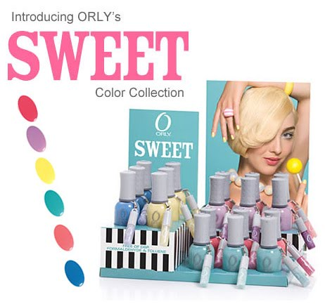 orly sweet collection nail polish